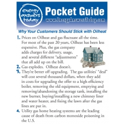 Energy Answers Today Pocket Guide